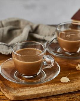 Coffee Cup & Glass
